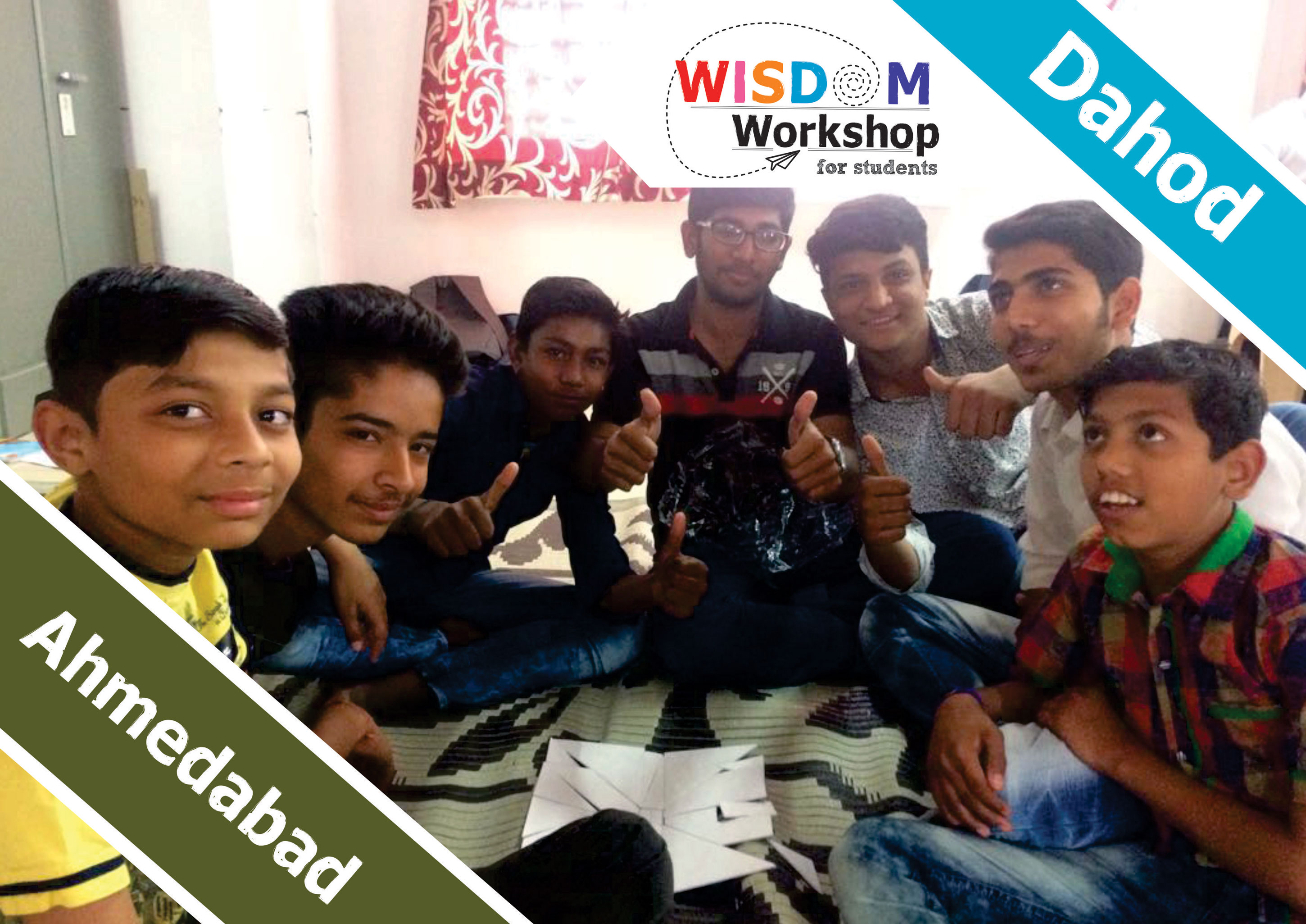 Ahmedabad And Dahod Wisdom Workshop Collage