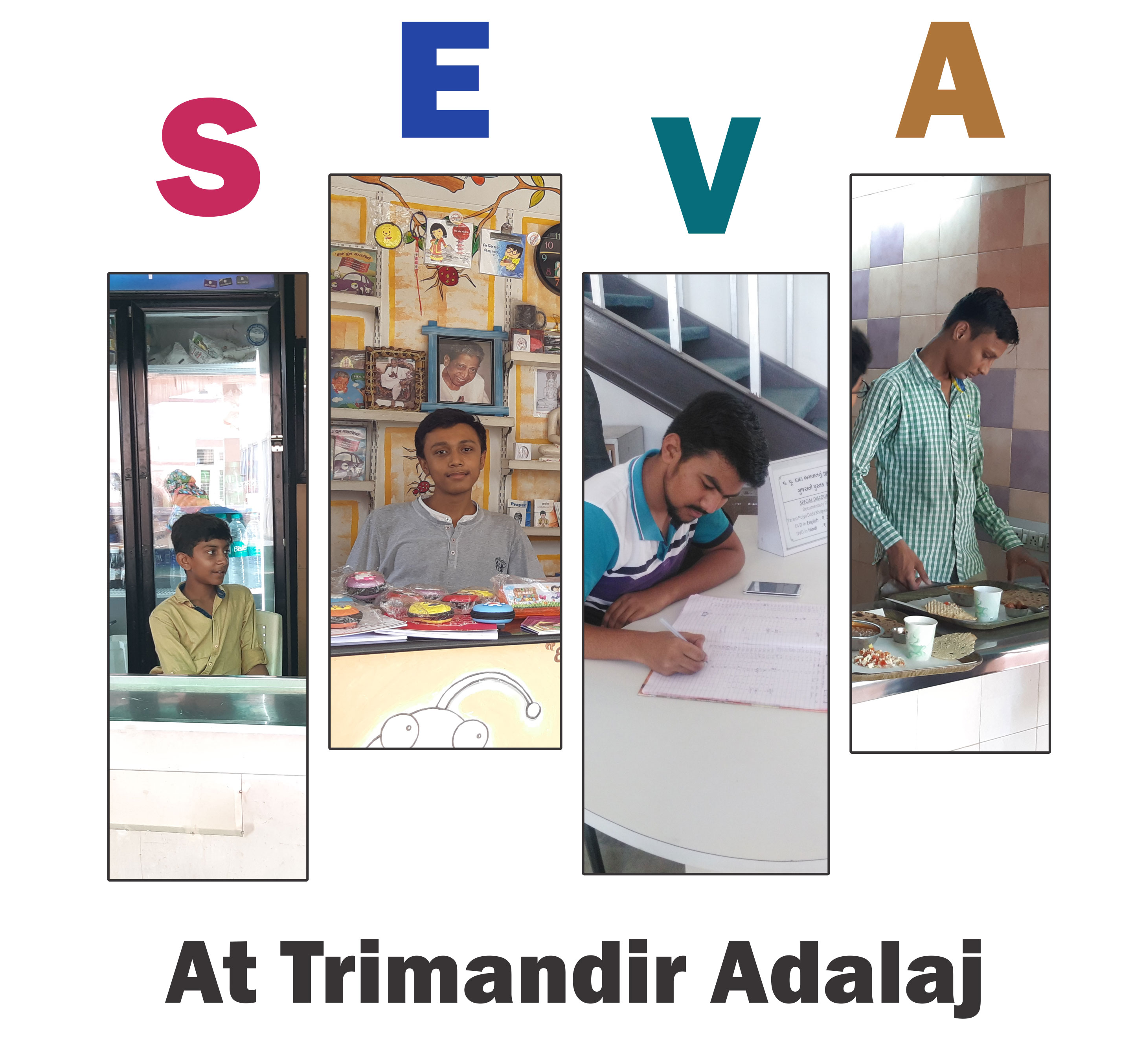Youth In Seva At Trimandir Adalaj