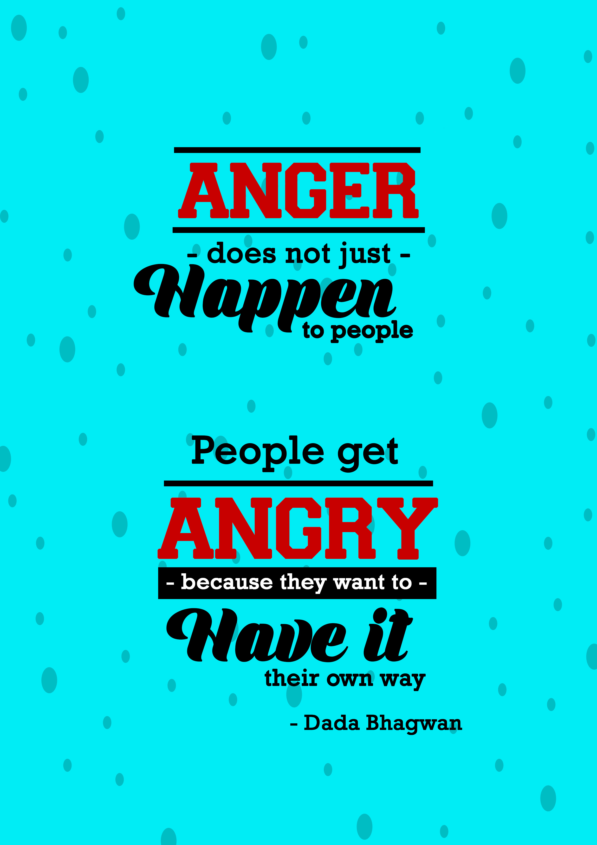 Anger Typo Own Way Desktop