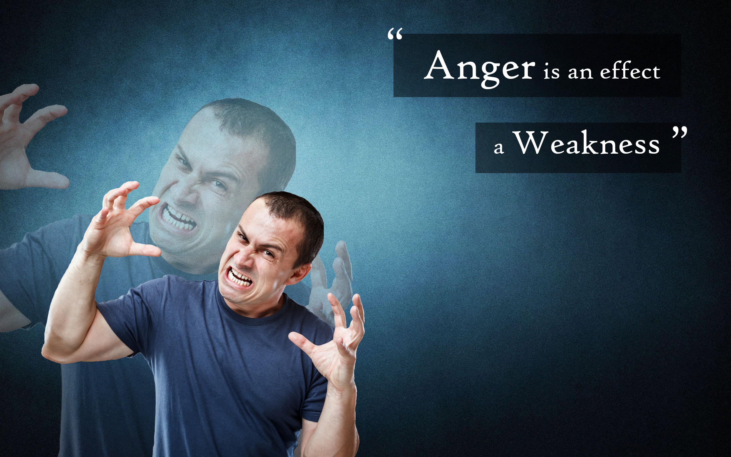Anger Weak Wall Desktop