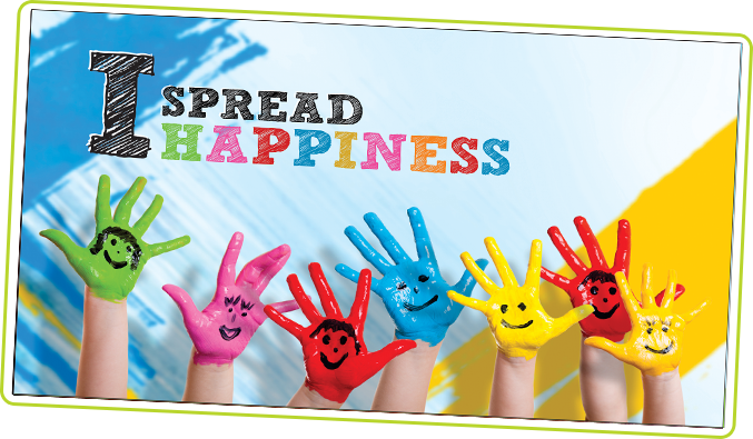 I Spread Happiness