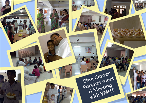 Bhuj Center Parents Meet Meeting With YMHT Collage