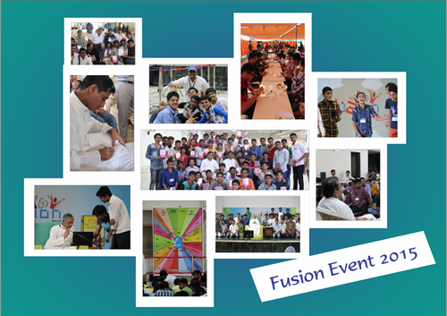 Fusion Event 2015 Collage