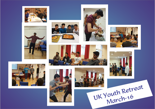 UK Youth Retreat March 16 Collage