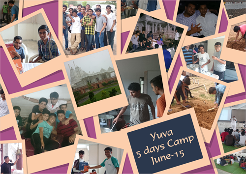 Yuva 5Days Camp June 15 Collage