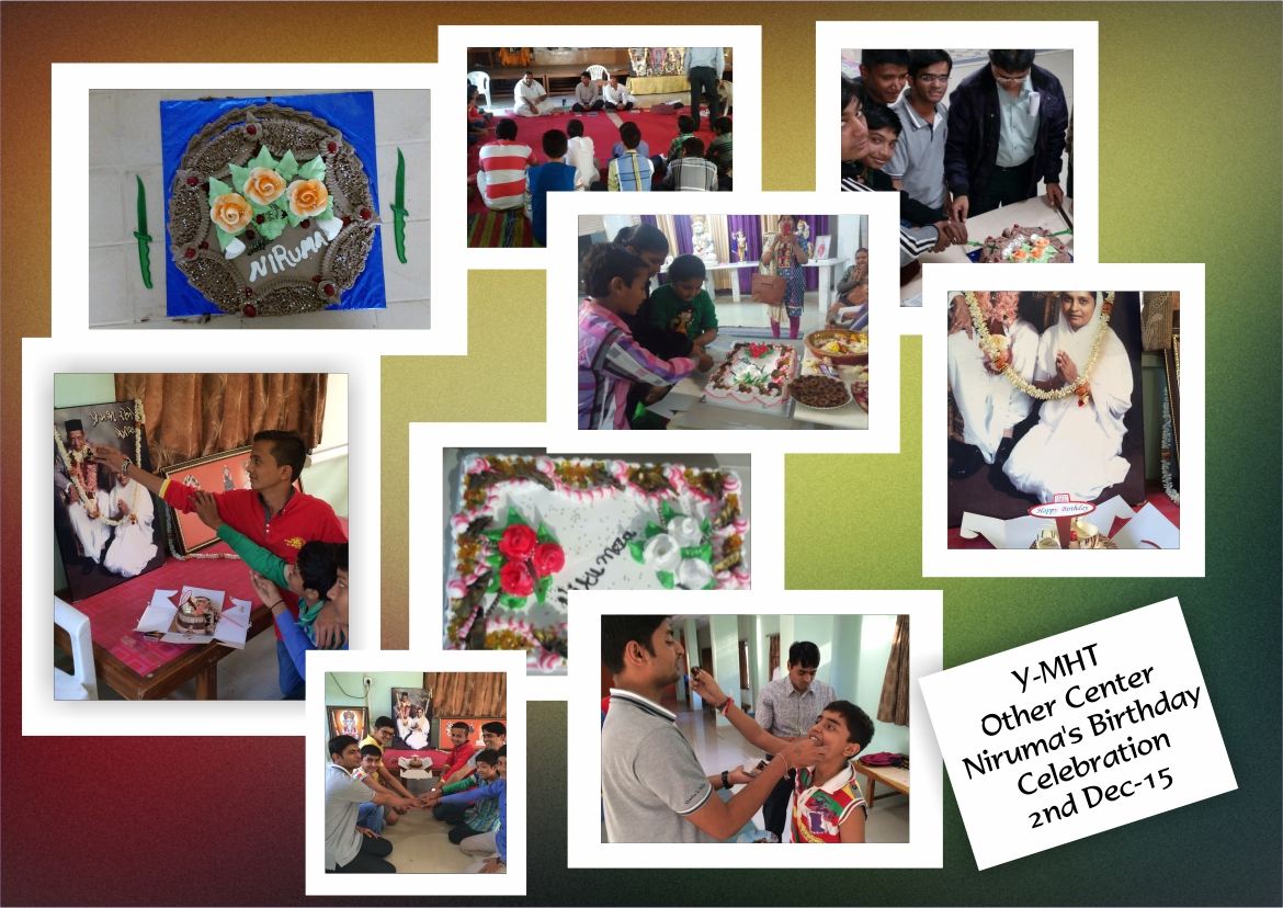 Y MHT Other Center Nirumas Birthday Celebration 2Nd Dec 15