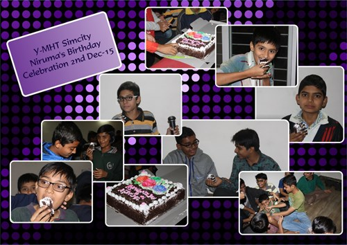 Y MHT Simcity Nirumas Birthday Celebration 2Nd Dec 15 Collage