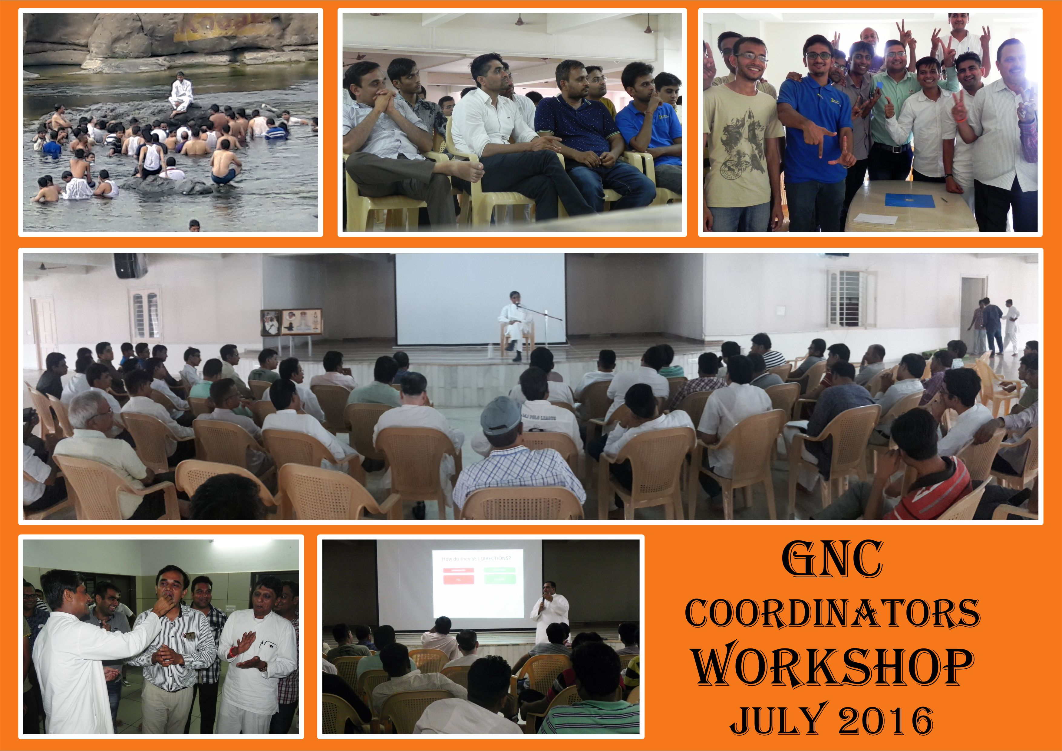 GNC Coordinators Workshop July 2016